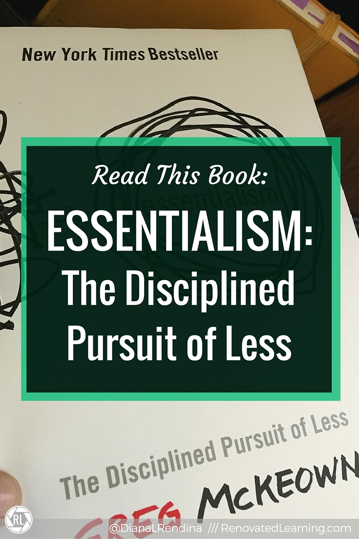 Read This Book: Essentialism